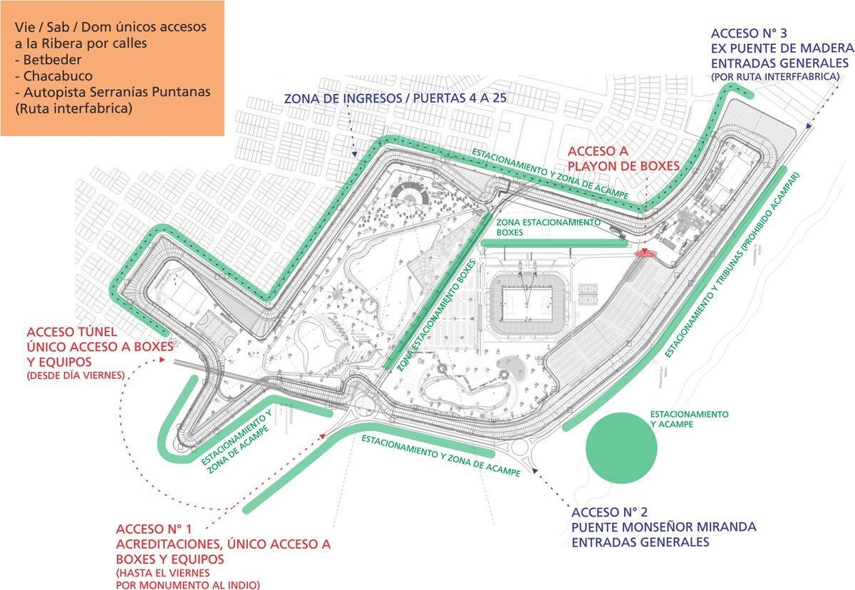 Circuito La Pedrera : Comenzó la venta de entradas para el turismo carretera