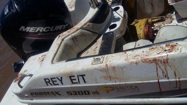 Un hermano de Messi tuvo un accidente con su lancha