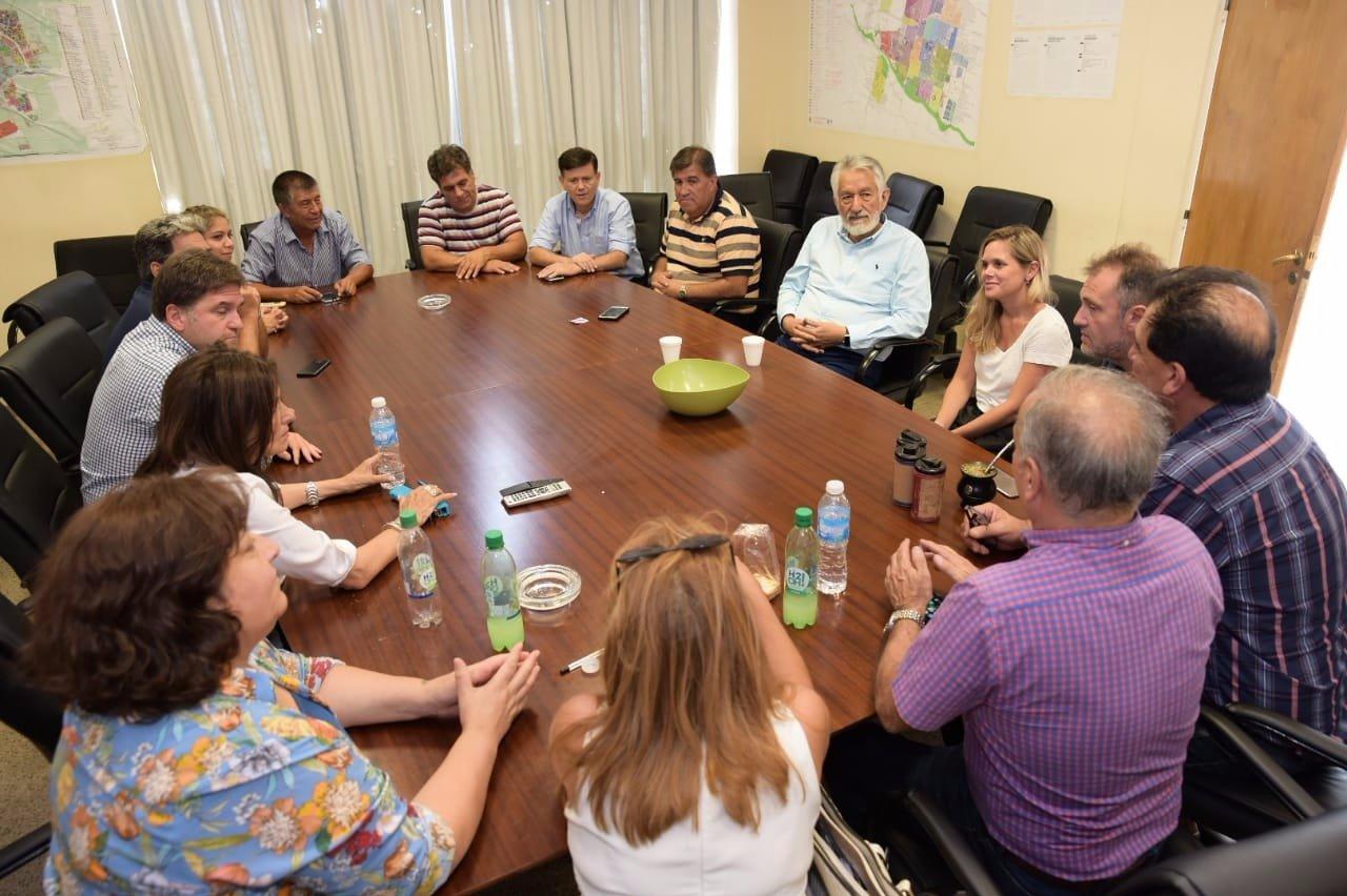 Alberto Rodríguez Saá coordinó, en una reunión previa, cómo iba a ser el Congreso.