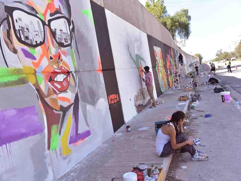 Encuentro de Muralistas y Grafiteros - San Luis, street art, muralismo