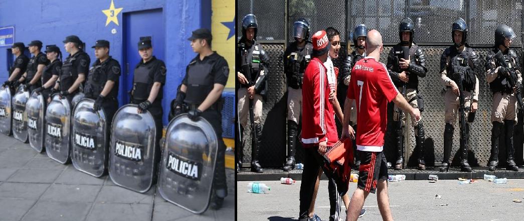Resultado de imagen para gendarmes y policias madrid